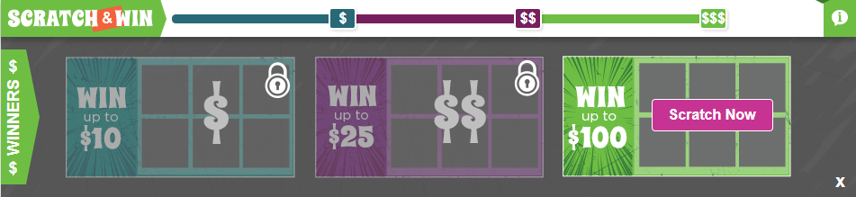 Inboxdollars scratch and win
