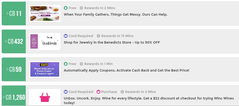 Cinchbucks offers
