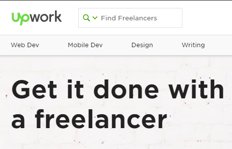 Get it done with upwork